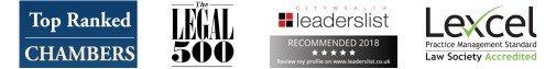 Ranked highly by legal regularoty boards