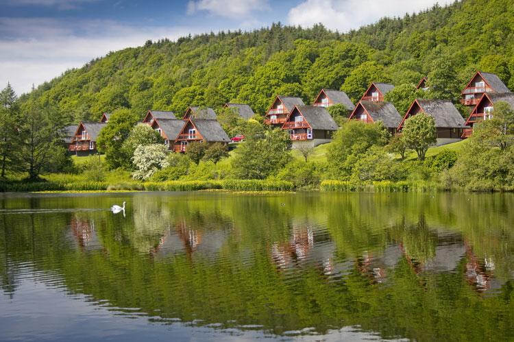 one night holiday accommodation by a lake